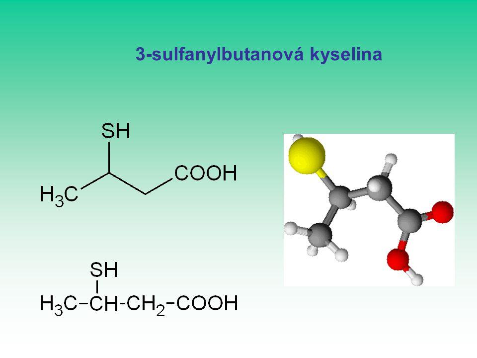 3-sulfanylbutanová kyselina