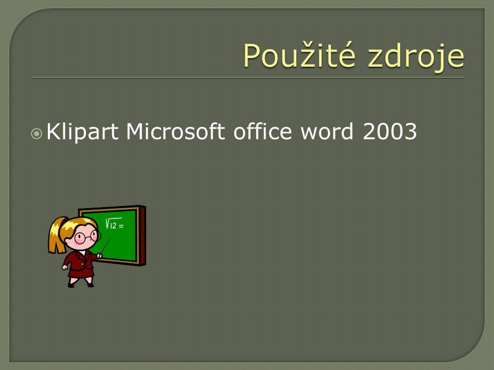  Klipart Microsoft office word 2003
