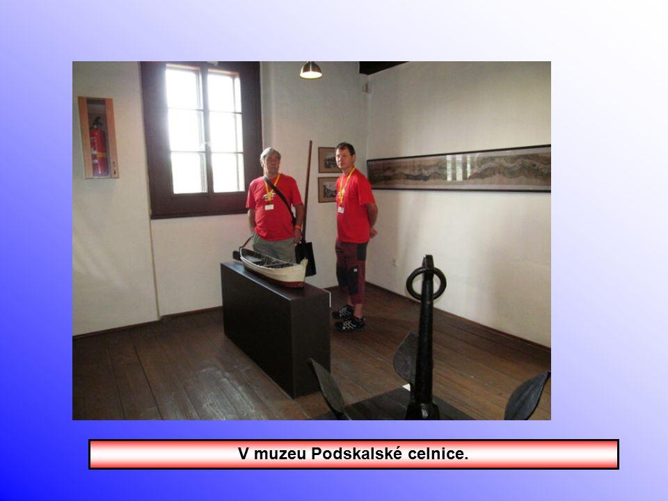 Podskalská celnice, muzeum a restaurace.