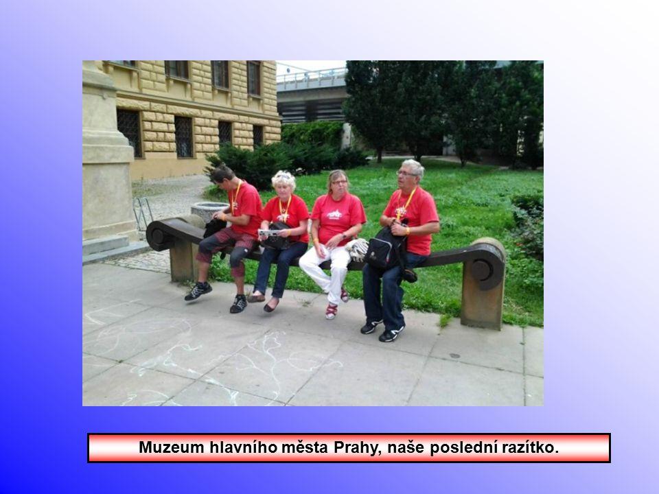 V muzeu Podskalské celnice.