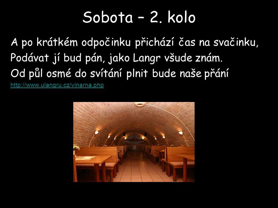 Sobota – 2.