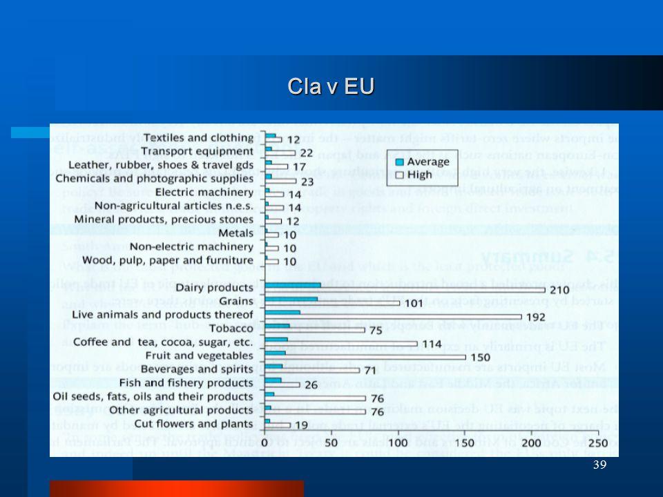 39 Cla v EU