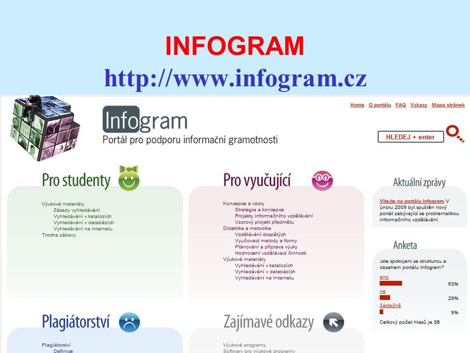 INFOGRAM http://www.infogram.cz