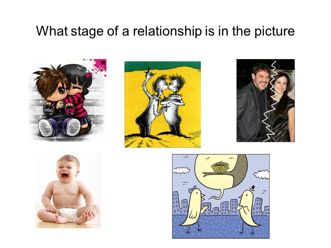 What stage of a relationship is in the picture