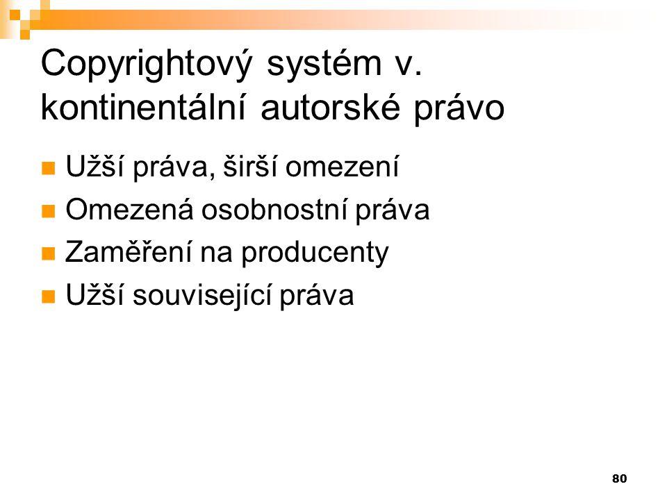 80 Copyrightový systém v.