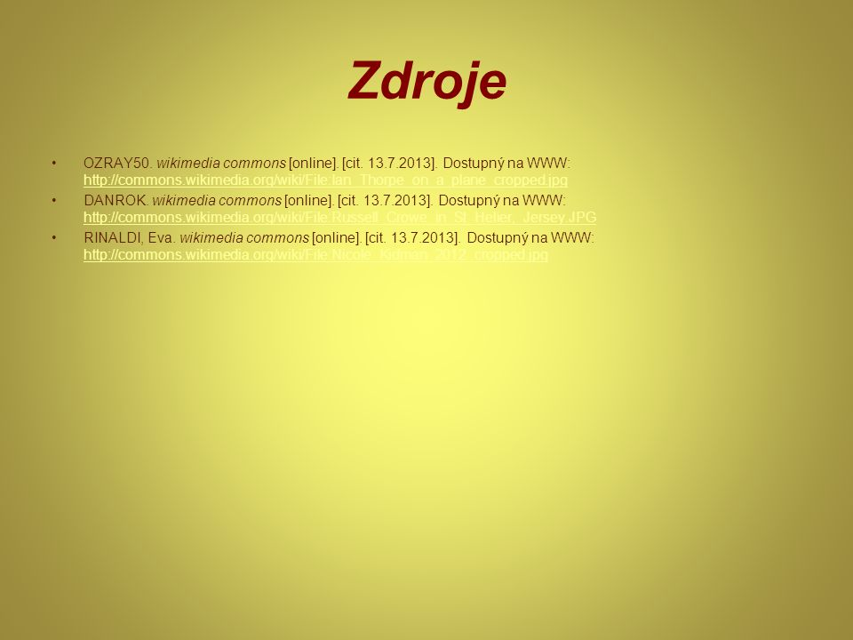 Zdroje OZRAY50. wikimedia commons [online]. [cit.
