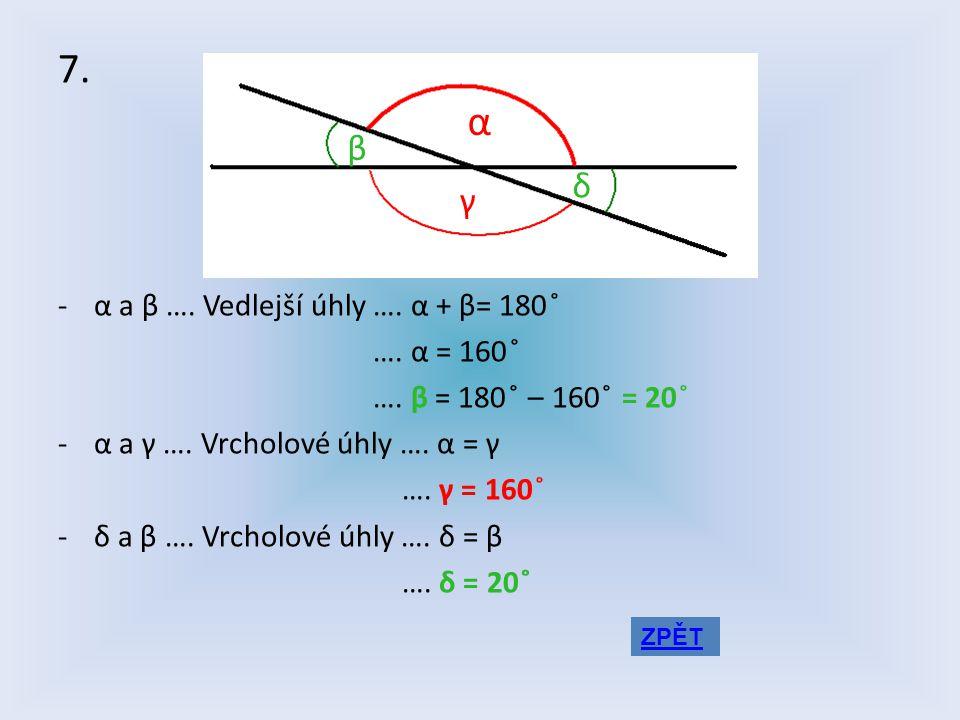 6. ADAM 1 minuta = 60 sekund 1 sekunda = 360 ̊: 60 = 6 ̊ 66 ̊= 66 ̊: 6 ̊ = 11 sekund HONZA 1 sekunda = 100 setin 10,2 sekund FILIP 1 minuta = 60 sekun