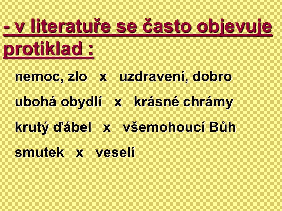 Literární osobnosti v baroku : Jan Amos Komenský Bohuslav Balbín Adam Michna z Otradovic Antonín Koniáš