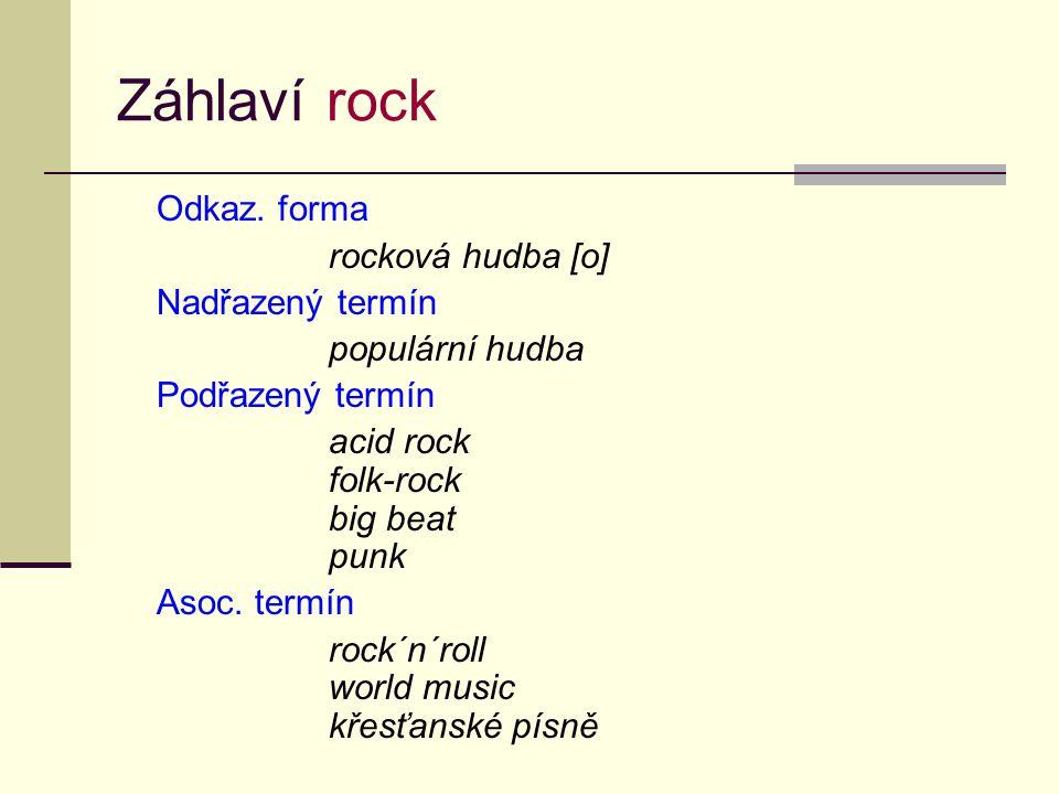 Záhlaví rock Odkaz.