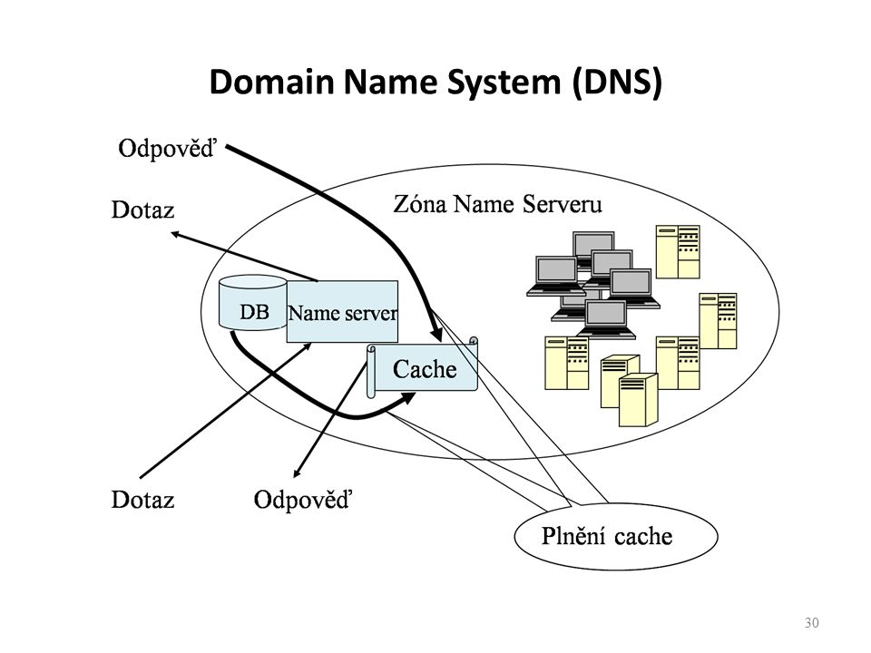 30 Domain Name System (DNS)