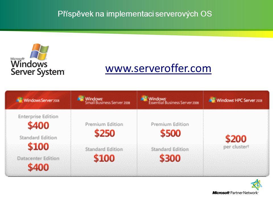 Příspěvek na implementaci serverových OS www.serveroffer.com