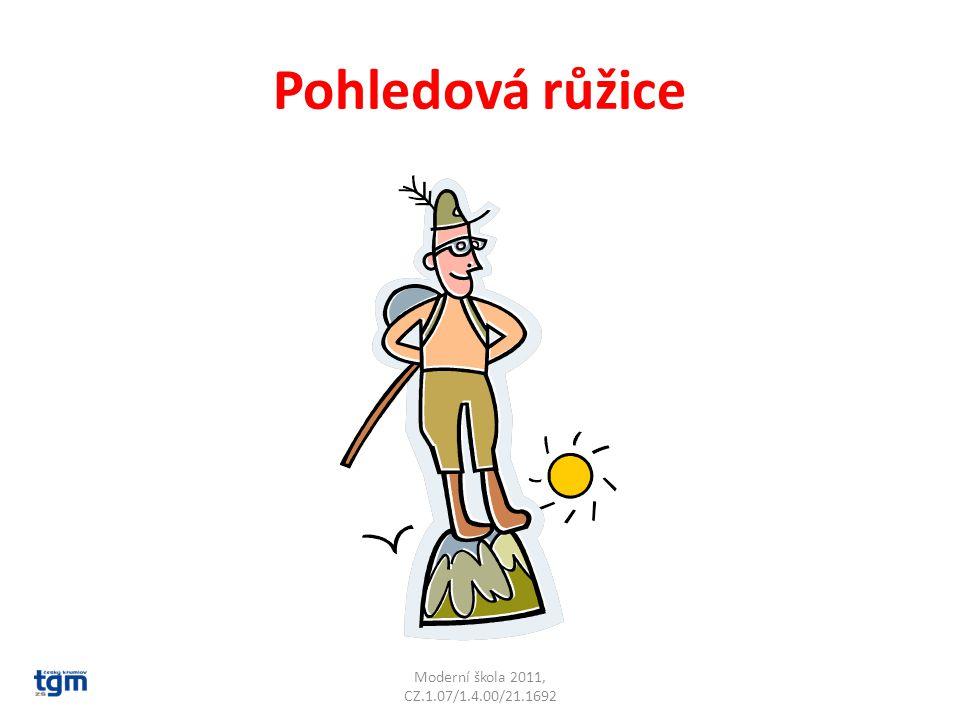 Pohledová růžice Moderní škola 2011, CZ.1.07/1.4.00/21.1692