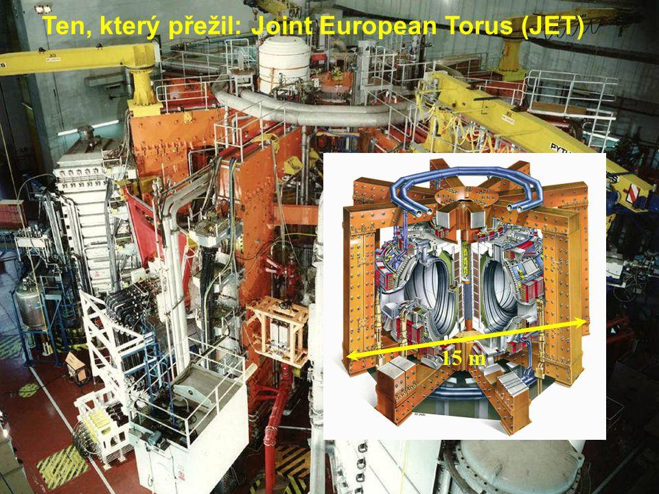 Fyzika tokamaků1: Úvod, opakování33 15 m Ten, který přežil: Joint European Torus (JET)