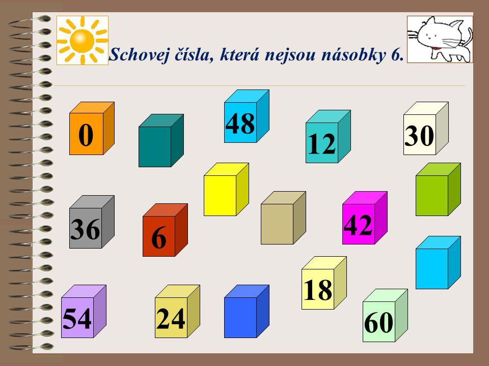Nyní to zkusím já! 8 : 5 = 12 : 5 = 19 : 5 = 23 : 5 = 37 : 5 = 39 : 5 = 41 : 5 = 44 : 5 = 46 : 5 = 1(zb. 3)Zk: 1. 5 + 3 = 8 2(zb. 2)Zk: 2. 5 + 2 = 12