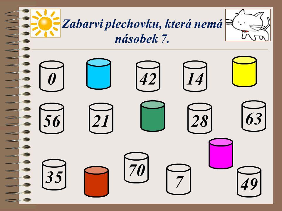 Dělíme číslem 6 se zbytkem. 8 : 6 = 13 : 6 = 22 : 6 = 35 : 6 = 44 : 6 = 47 : 6 = 29 : 6 = 59 : 6 = 1(zb. 2)Zk: 1. 6 + 2 = 8 2 (zb. 1) Zk: 2. 6 + 1 = 1