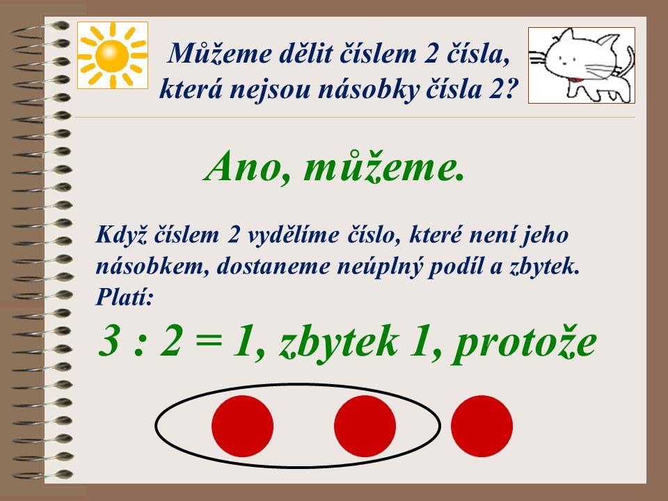 Násobky čísla 2 Vyhledej a označ násobky čísla 2. 0 1 2 3 4 5 6 7 8 9 10 11 12 13 14 15 16 17 18 19 20 Čísla 0, 2, 4, 6, 8, 10, 12, 14, 16, 18, 20 jso