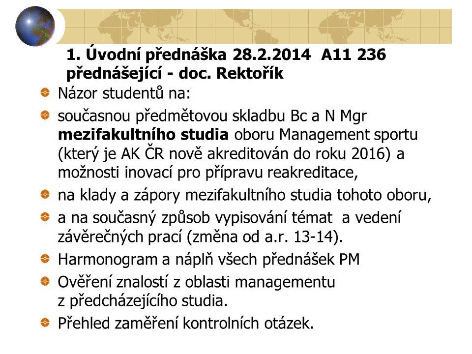 Projekt: studijní obor Management sportu Od 1.1.2014 je projekt-studijní obor MAN ověřován – evaluován Studijní oborovou radou MAN ve smyslu Opatření děkana FSpS č.