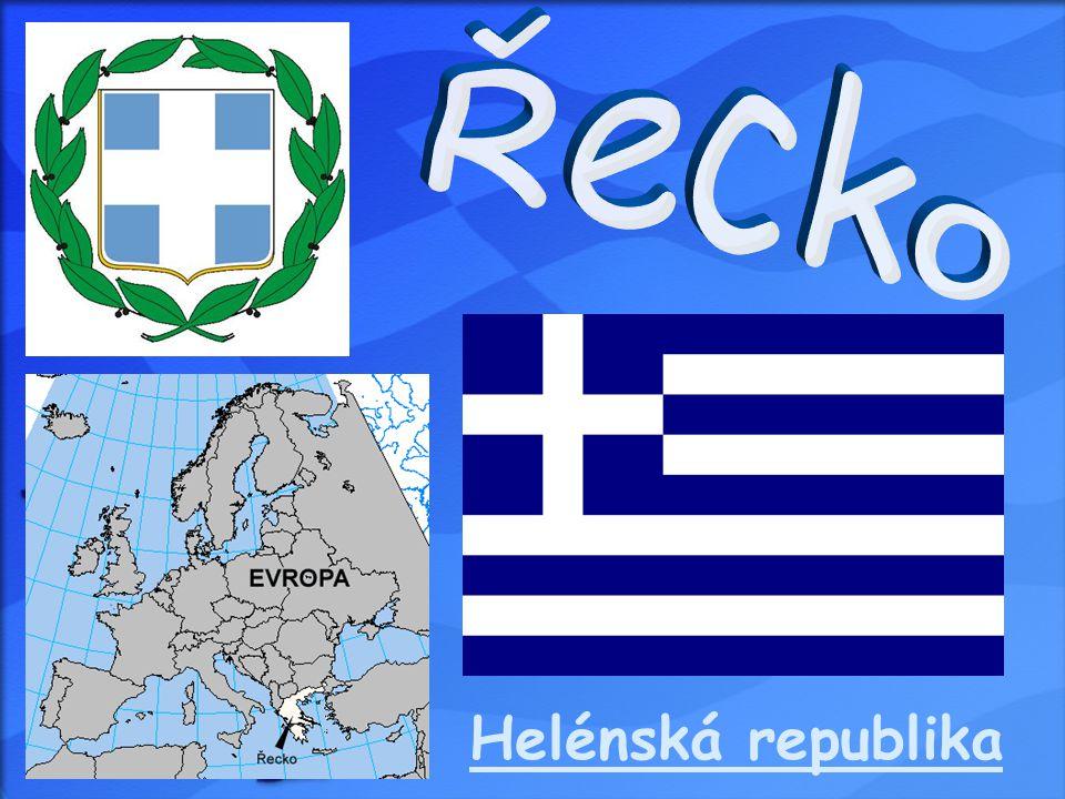  Hlavní město: Atény  Rozloha: 131 940 km²  Počet obyvatel: 10 706 290  Hustota zalidnění: 81 ob.