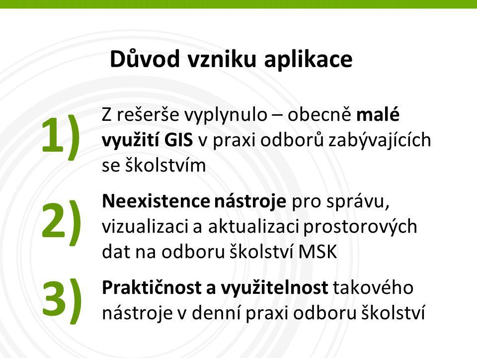 Současný stav na KÚ v ČR Mají krajské úřady na svých webových stránkách prezentaci prostorových dat týkajících se školství.