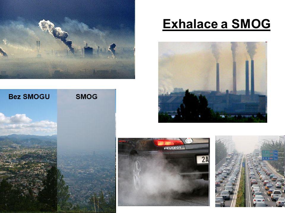 Exhalace a SMOG Bez SMOGUSMOG
