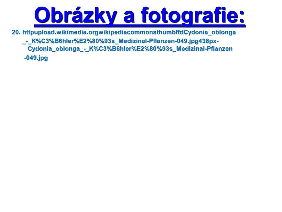 Obrázky a fotografie: 20. httpupload.wikimedia.orgwikipediacommonsthumbffdCydonia_oblonga _-_K%C3%B6hler%E2%80%93s_Medizinal-Pflanzen-049.jpg438px- Cy