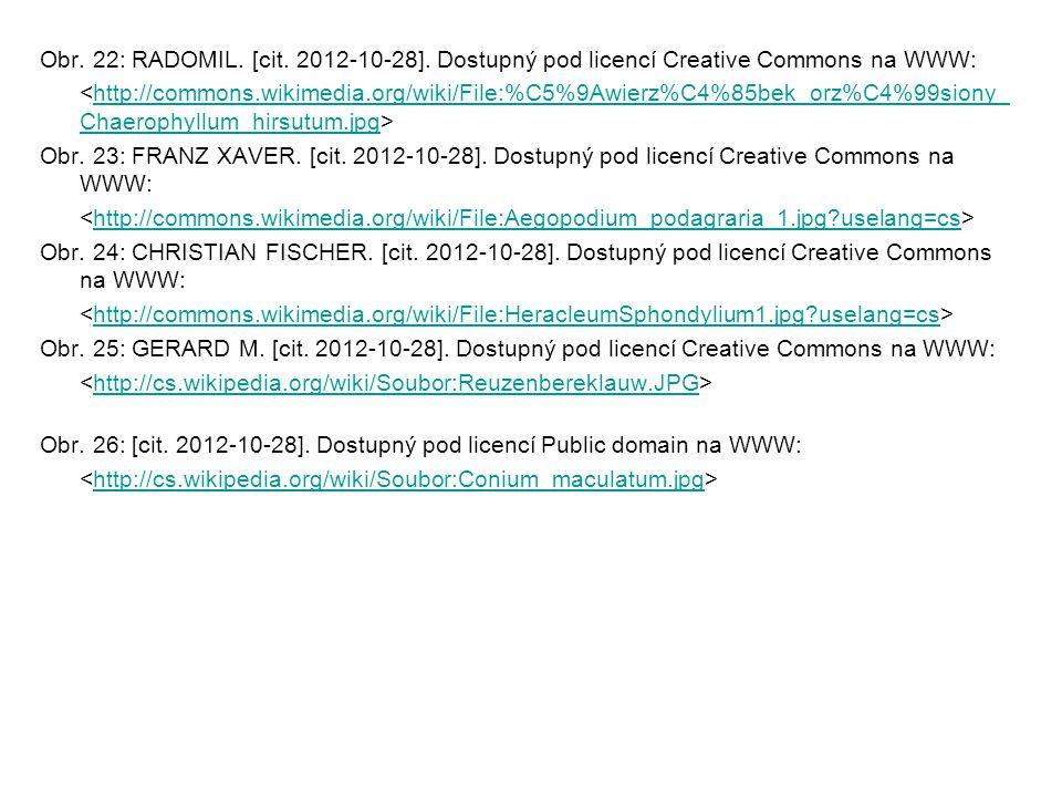 Obr. 22: RADOMIL. [cit. 2012-10-28]. Dostupný pod licencí Creative Commons na WWW: http://commons.wikimedia.org/wiki/File:%C5%9Awierz%C4%85bek_orz%C4%