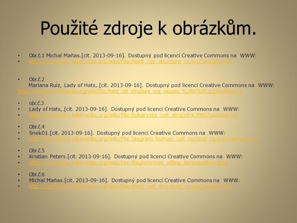 Použité zdroje k obrázkům. Obr.č.1 Michal Maňas.[cit. 2013-09-16]. Dostupný pod licencí Creative Commons na WWW: http://commons.wikimedia.org/wiki/Fil