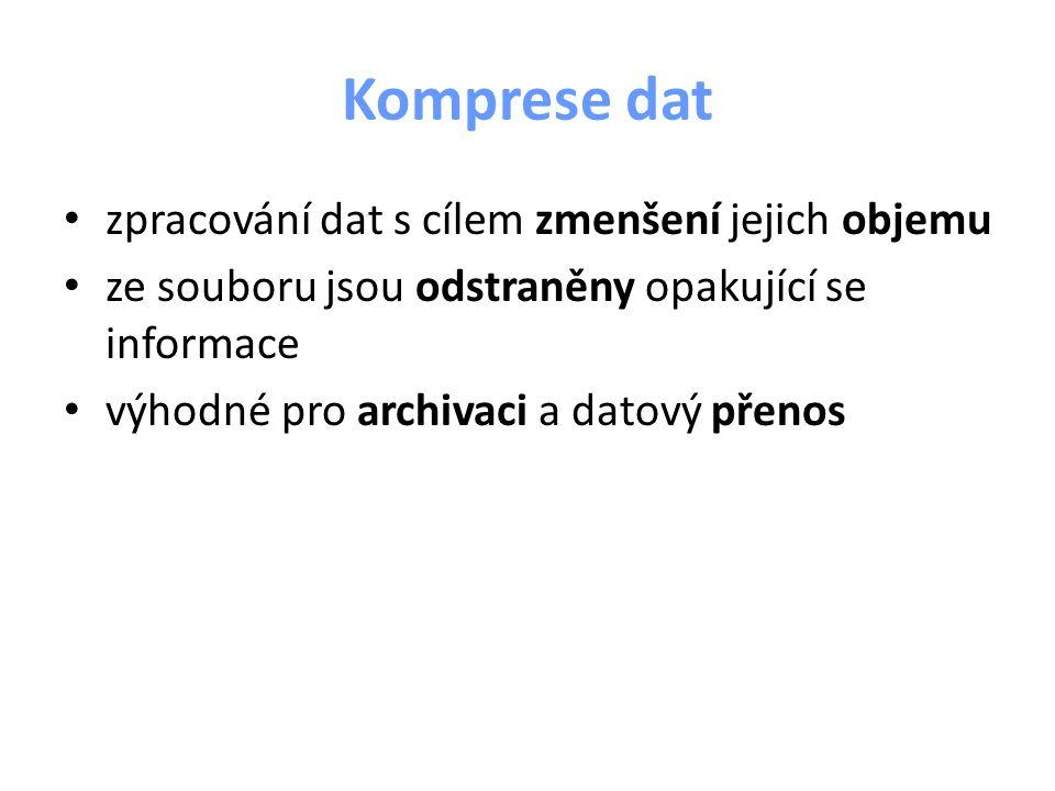 Komprese dat [2]