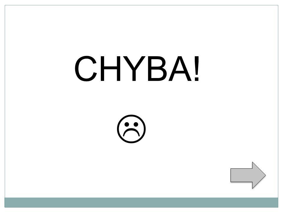  CHYBA!