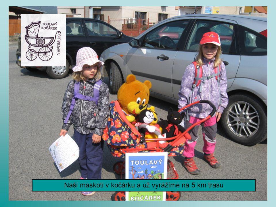 Součásti pochodu byla i dětská trasa Toulavý kočárek