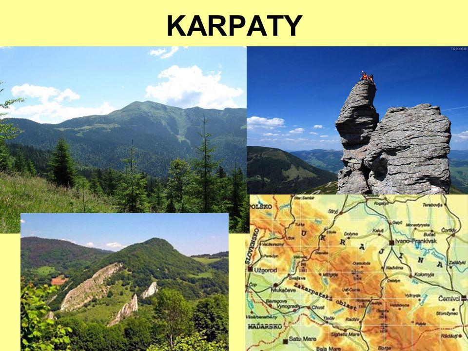 KRYMSKÉ HORY vrchol Roman-Koš 1545 m n. m.