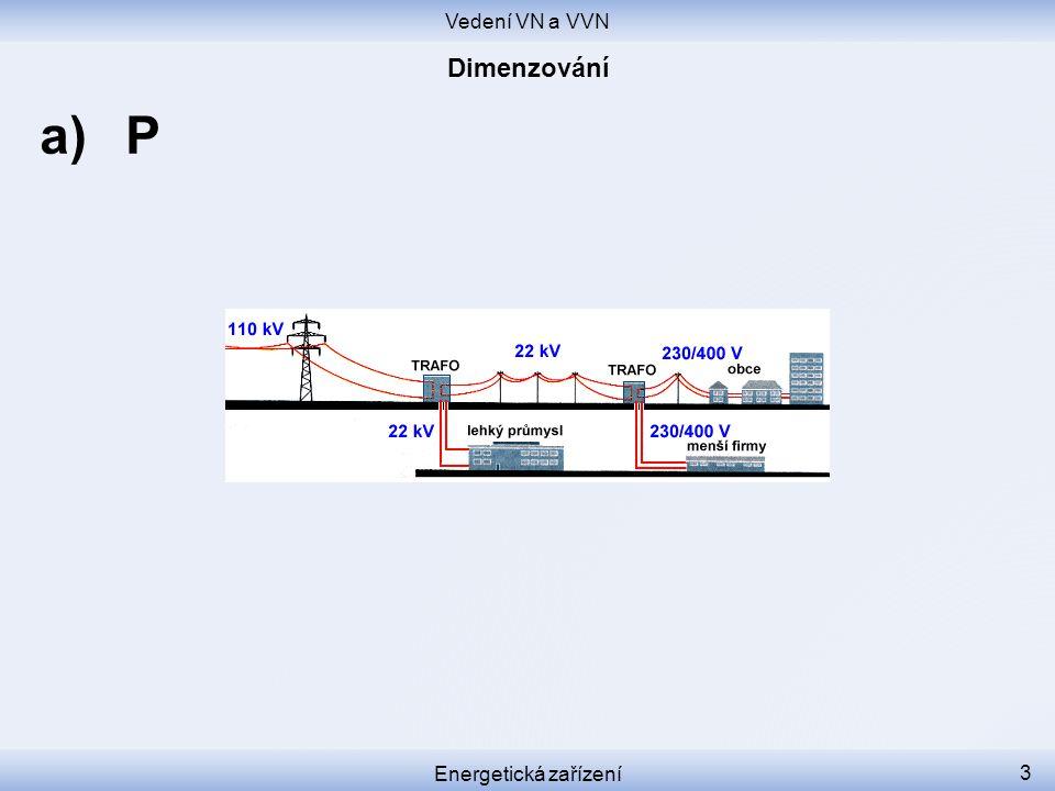 Vedení VN a VVN Energetická zařízení 3 a)P