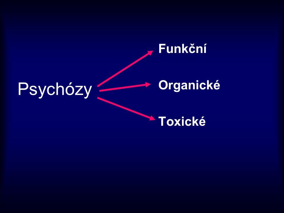 Psychózy Funkční Organické Toxické