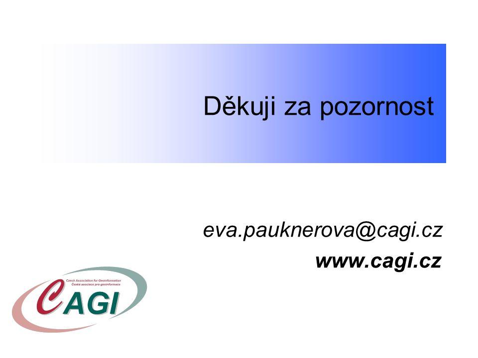 Děkuji za pozornost. eva.pauknerova@cagi.cz www.cagi.cz
