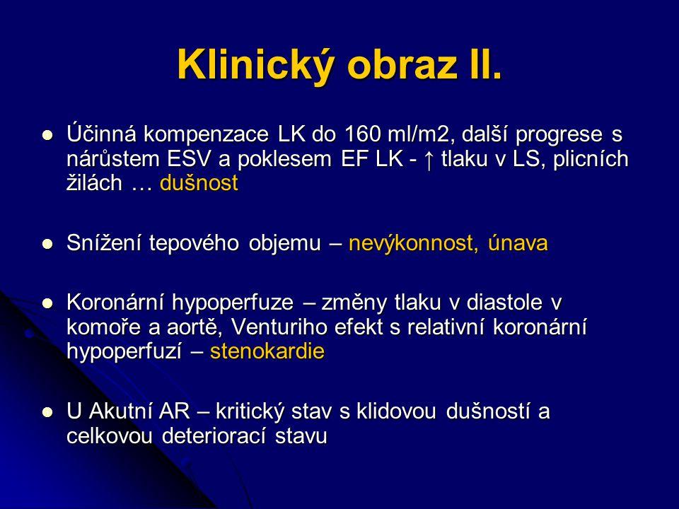 Klinický obraz II.