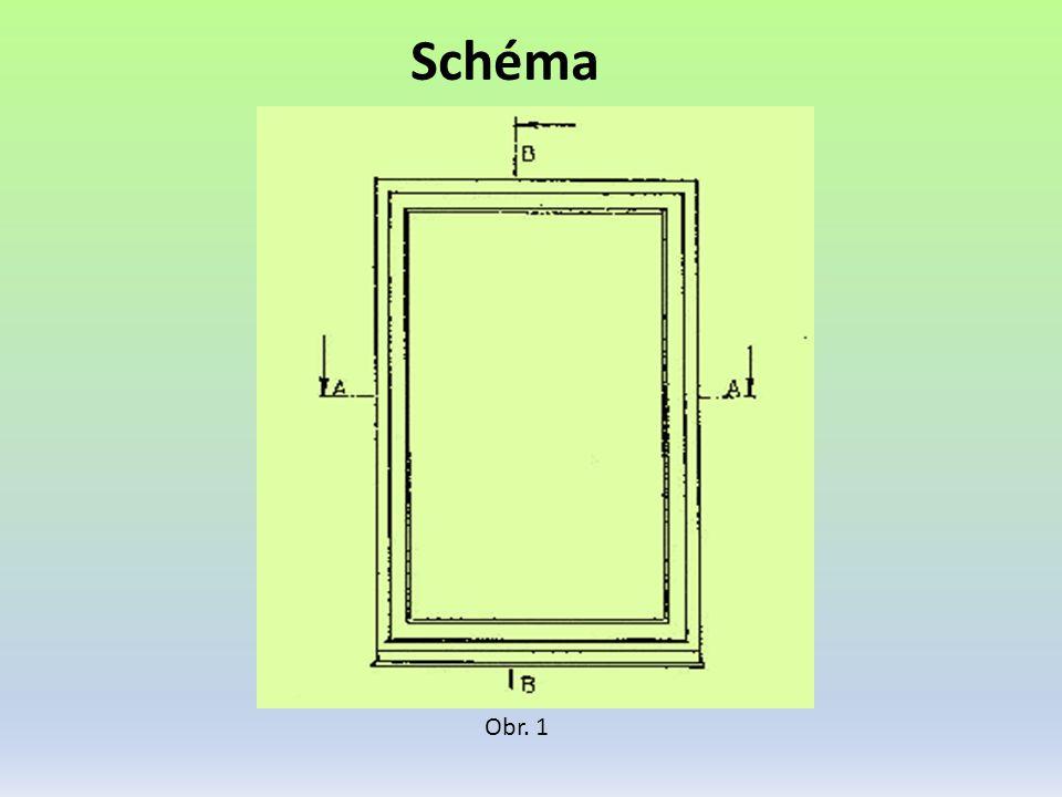 Detaily Obr. 2 Vodorovný řez A-A