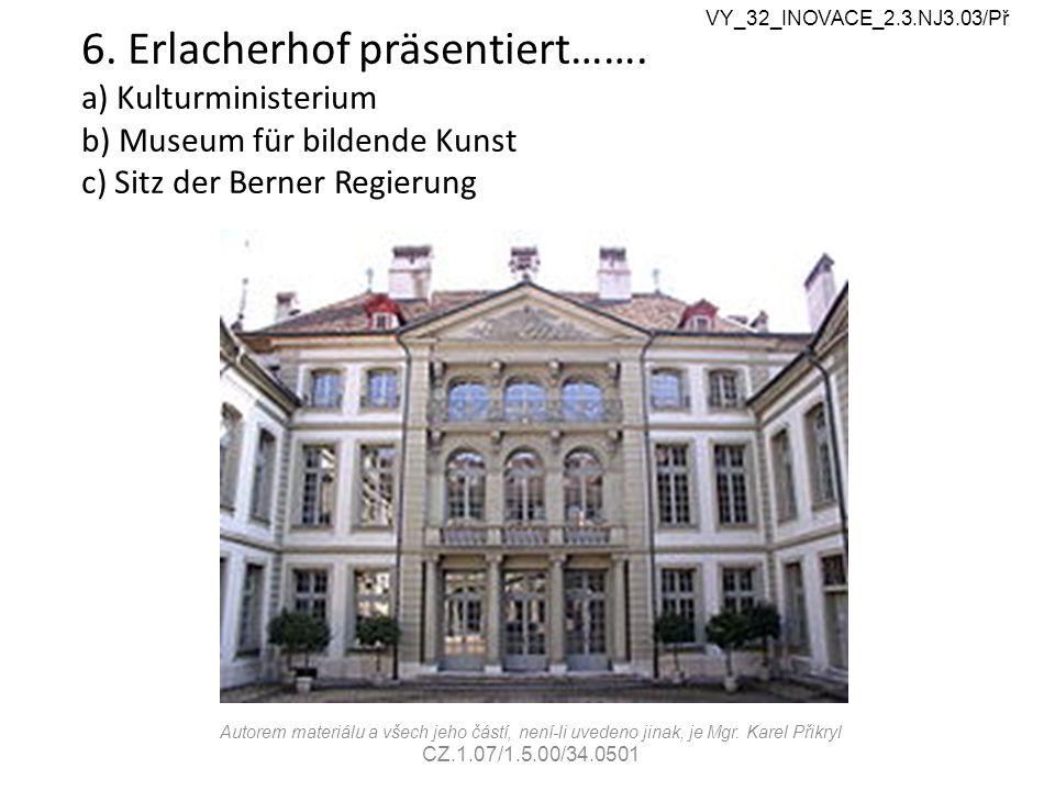 6. Erlacherhof präsentiert…….