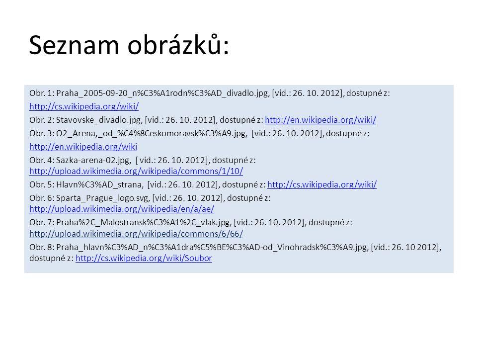 Seznam obrázků: Obr. 1: Praha_2005-09-20_n%C3%A1rodn%C3%AD_divadlo.jpg, [vid.: 26. 10. 2012], dostupné z: http://cs.wikipedia.org/wiki/ Obr. 2: Stavov