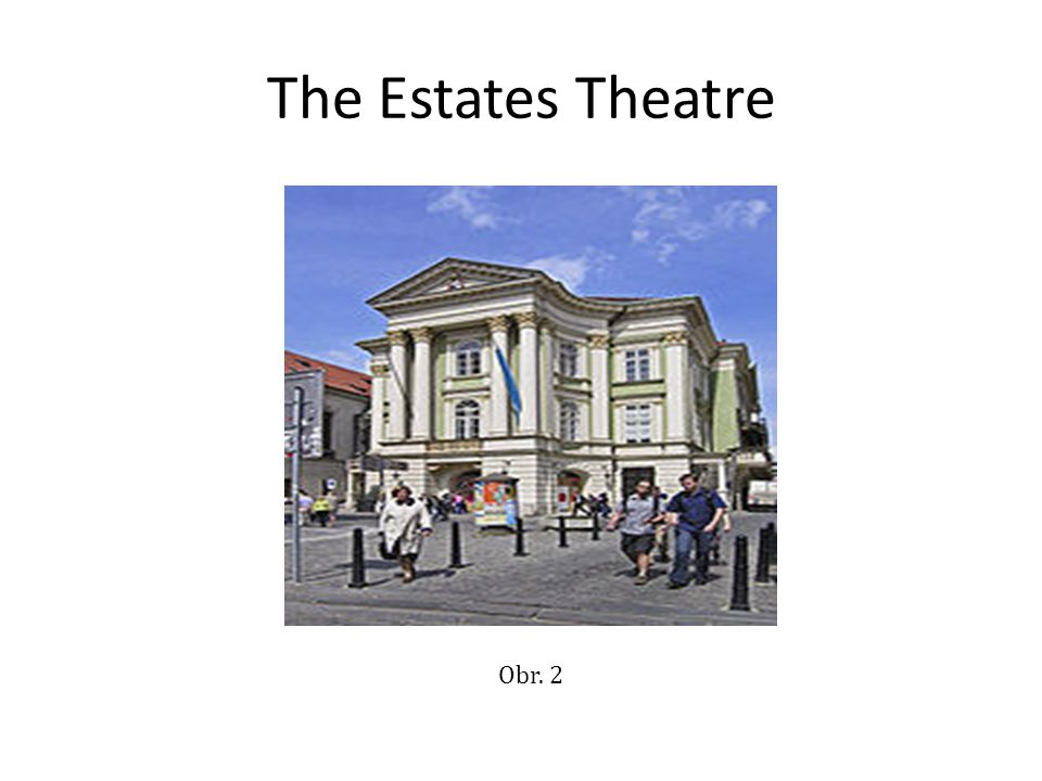 The Estates Theatre Obr. 2