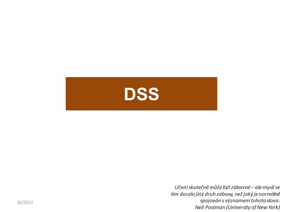 10/201317 ZávěrZávěr Tvorba systému na podporu řízení Doc. Ing. P. Dlask, Ph.D.