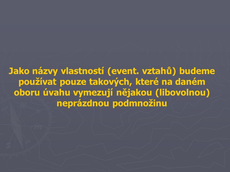 Jako názvy vlastností (event.