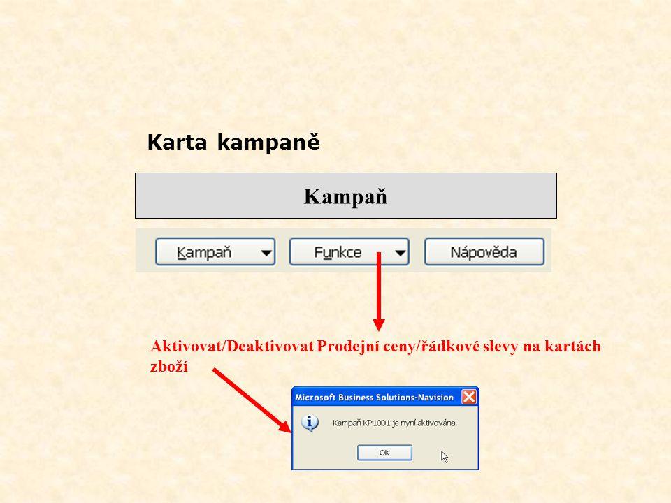 Segment – funkce výběr profilu dle dotazníků II