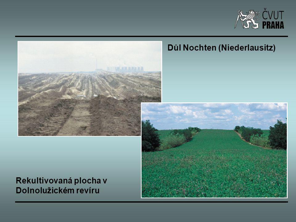 Důl Nochten (Niederlausitz) Rekultivovaná plocha v Dolnolužickém revíru