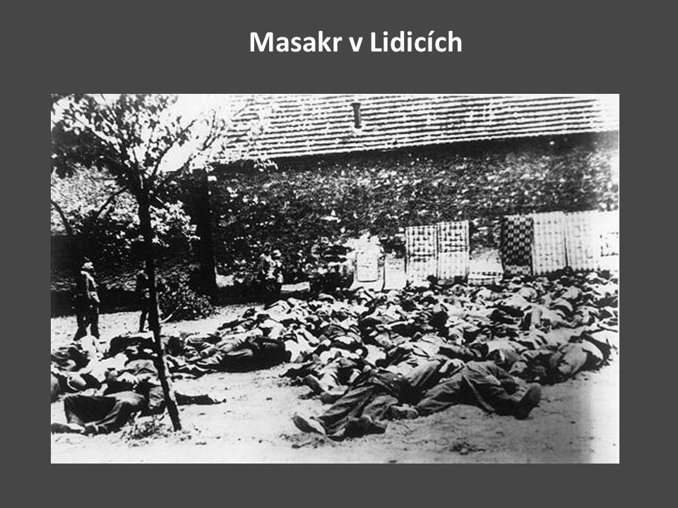 Masakr v Lidicích