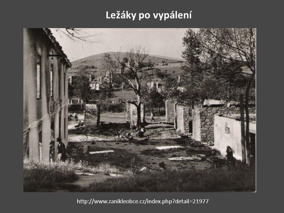 Ležáky po vypálení http://www.zanikleobce.cz/index.php?detail=21977