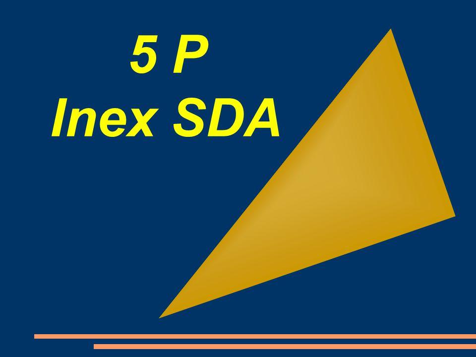 5 P Inex SDA