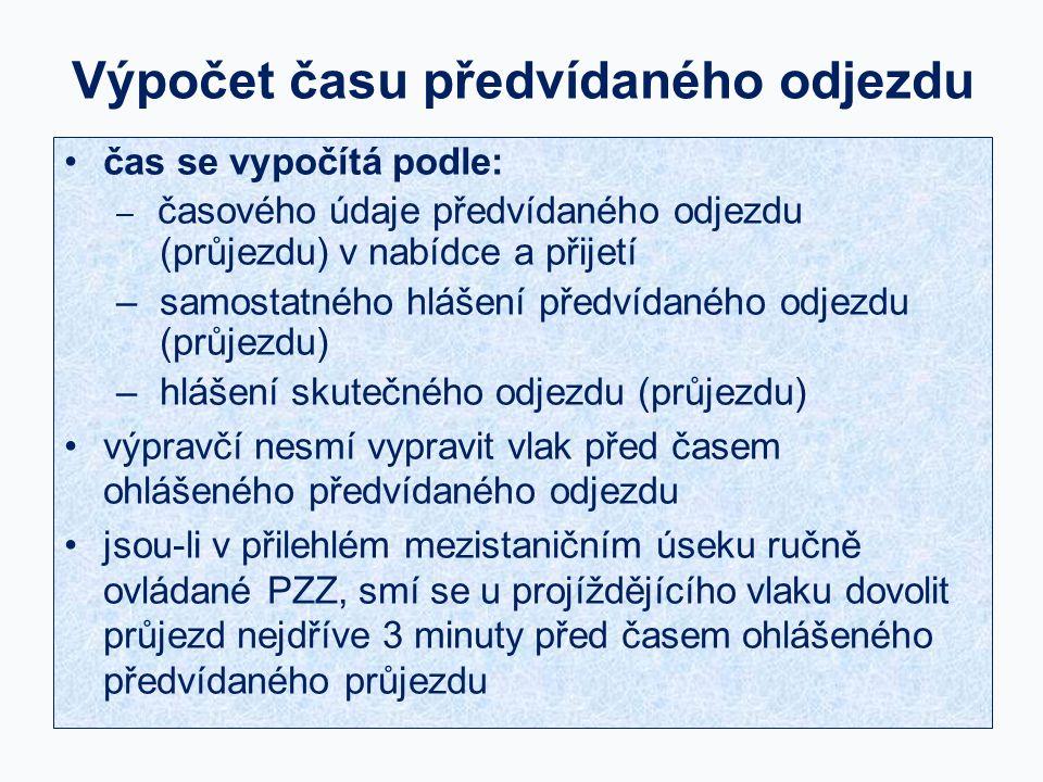 Adamov Benkov 65 852 5 678 Hl Zličín Nabídka následného vlaku při jízdě v traťových oddílech 9 2 804 Vlak 65 852 ve Zličíně.