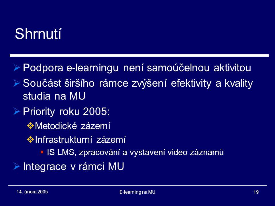 E-learning na MU19 14.