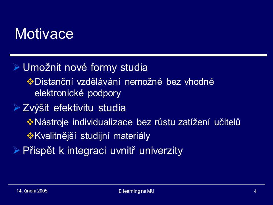 E-learning na MU4 14.