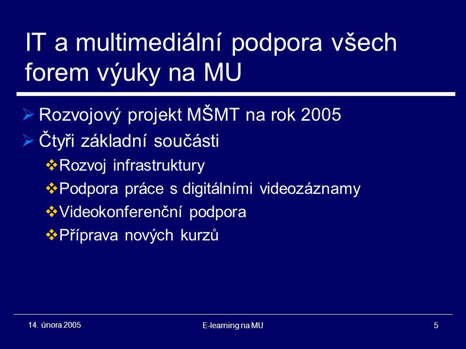 E-learning na MU5 14.